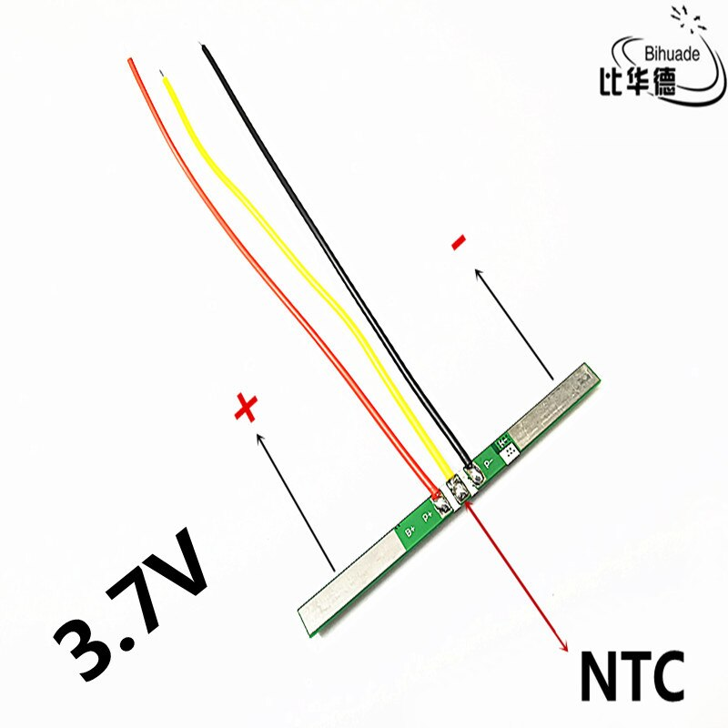 Placa de protección de batería 3,7 V 3A li-ion BMS PCM pcm para batería de litio 18650 ion li polimerida