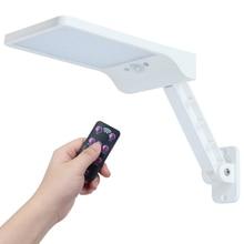 QLTEG 48 led Solar Light 450LM PIR Motion Sensor Ip65 Waterproof Outdoor street wall garden lamp rotable Remote Control