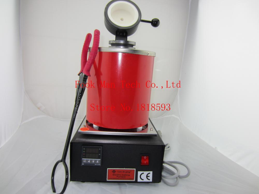Nuevo estilo de MINI horno de fusión, horno eléctrico de oro fundido, máquinas para derretir oro, herramienta de joyería de calidad alta