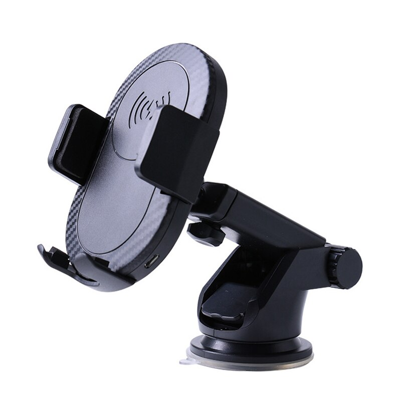 Cargador inalámbrico extensible EtopLink, soporte de succión para coche, soporte de brazo extensible para teléfono móvil