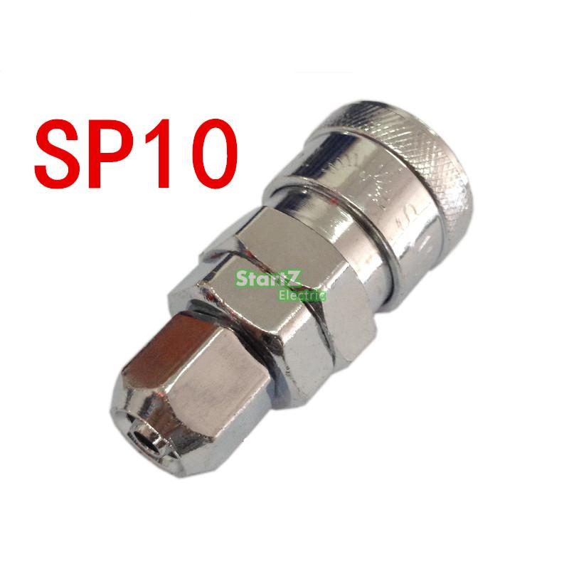 SP10 manguera de Unión 6mm X 4mm compresor de aire neumático manguera acoplador rápido conector de enchufe