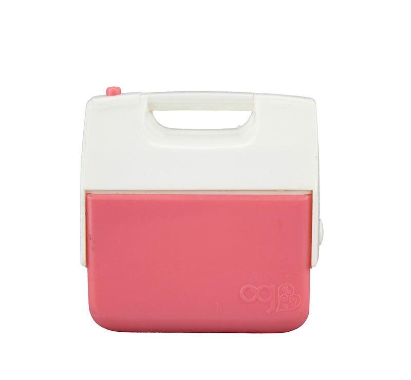 Mini caja de almacenamiento para muñeca de Niña Americana de 45cm, accesorios para muñecas de 18 pulgadas