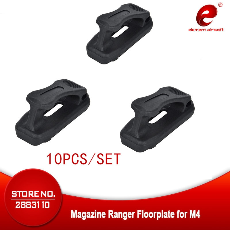 Element airsoft M4 PTS PMAG armas accesorios MAG PUL revista Ranger Floorplate 45x5,56 arma soporte para arma riel Picatinny EX292
