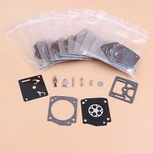 Kit de réparation du carburateur, en forme de Carb, 365, 362 371 372XP, diaphragme de scie à chaîne, 372 2065, Zama, 10 pièces