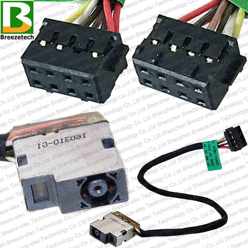 Conector de toma de corriente CC nuevo y original, Cable de enchufe para HP Pavilion ENVY 15-E 15T-E 17-E 17Z-E 15-R 15-G 709802-YD1 719859-001