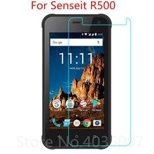 2pcs Tempered Glass For Senseit R500 Screen Protector 9H 2.5D Phone Protective Glass For Senseit R50