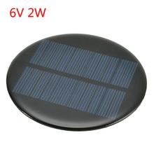 6 Type panneau solaire 6V 2W 0.35A/ 5.5V 50mA énergie solaire bricolage Mini polycristallin silicium cellule solaire Module panneau solaire panneau époxy