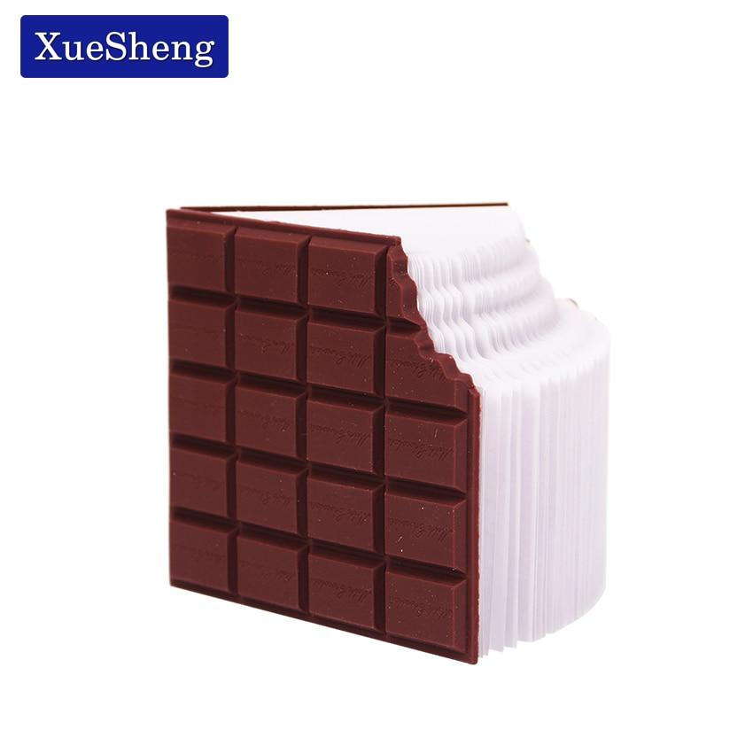 1 шт. лучшая акция, удобный канцелярский блокнот, шоколадный блокнот для записей, «сделай сам», Обложка, блокнот, школьные подарки