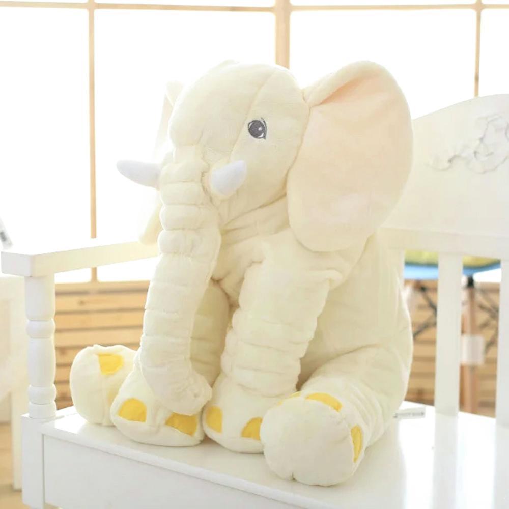 holiday gift plush toy barto duck dog lula ellie elephant doll 2021 New 40*60cm Height Large Plush Elephant Doll Toy  Cute Stuffed Elephant Sleep with  baby Doll Xmas Gift