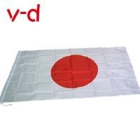 free shipping xvggdg new japanese flag 3ft x 5ft hanging japan flag polyester standard flag banner