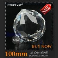 1 Transprent Chandelier gorgeous Crystal Healing Pendulum Lamp Prisms Hanging Pendants Ball Rainbow Maker 100mm 4'' dia. M02074
