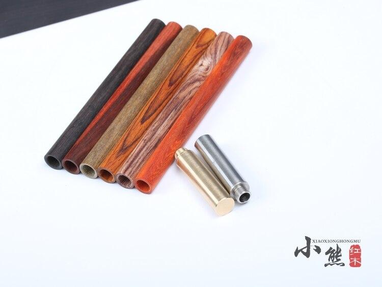 Wood Crafts DIY Pen Kits  Woodturning Pen DIY sets Brass / Stainless Steel metal kits DIY gift