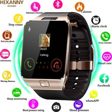 Smartwatch DZ09 Smart Uhr Unterstützung TF SIM Kamera Männer Frauen Sport Bluetooth Armbanduhr für sa m u ng wei XM android Telefon