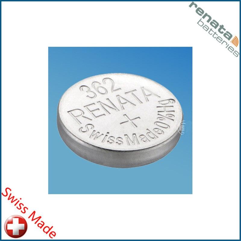 2 pçs/lote varejo nova marca renata de longa duração 362 sr721sw v362 gp62 ag11 relógio botão da bateria célula moeda suíço feito 100% original