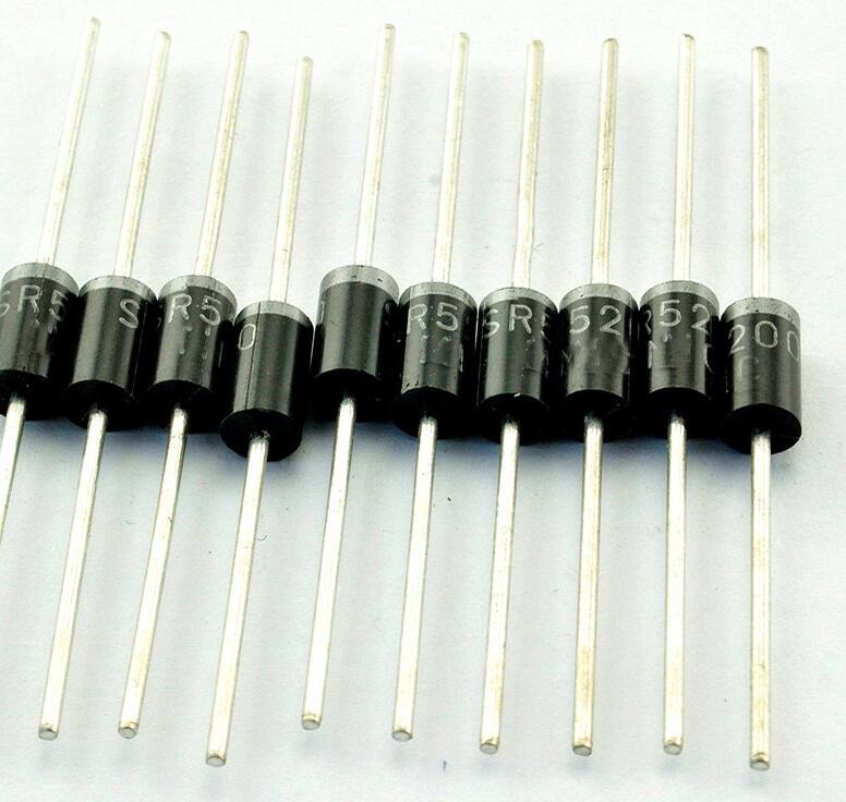 50 unids/lote SR5200 5A 200 V ¿-27