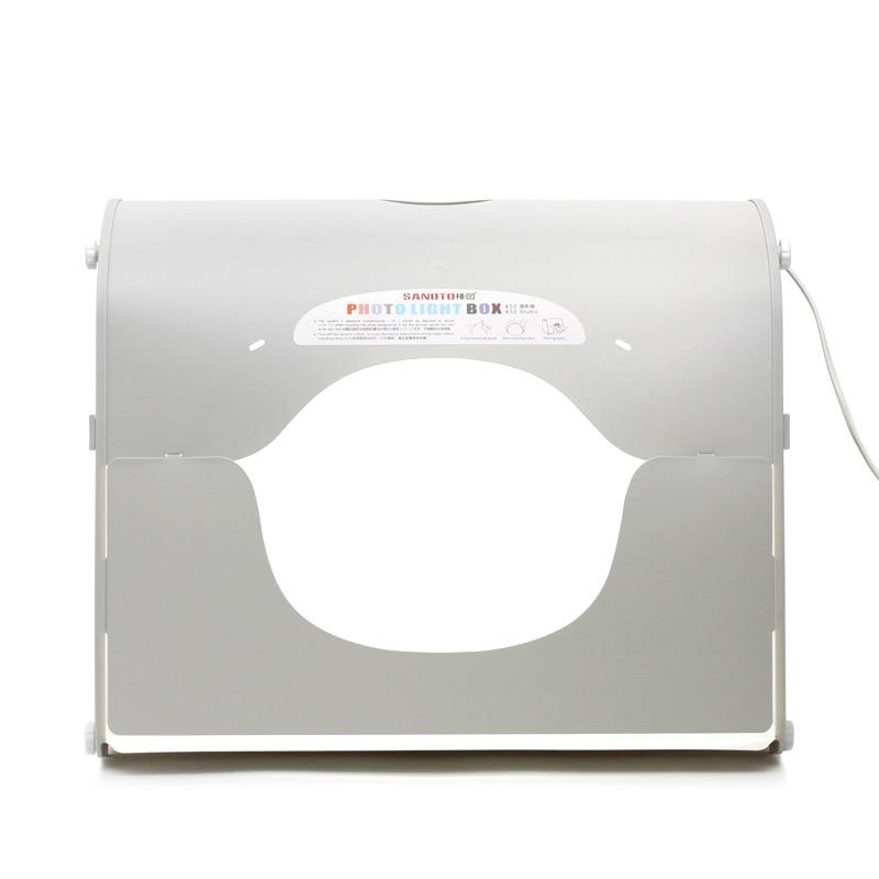 "SANOTO K50 20 ""x 16"" softbox estudio fotográfico fotografía caja de luz LED portátil para 220/110V EU US UK AU"