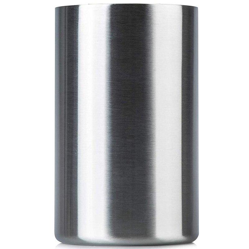 Isolados Refrigerador de Vinho Balde Com Arejador Vinho-Serve Para Garrafas de Vinho de 750 Ml, mantém o Vinho Frio Por Horas  -Sweat Grátis Ste Inoxidável