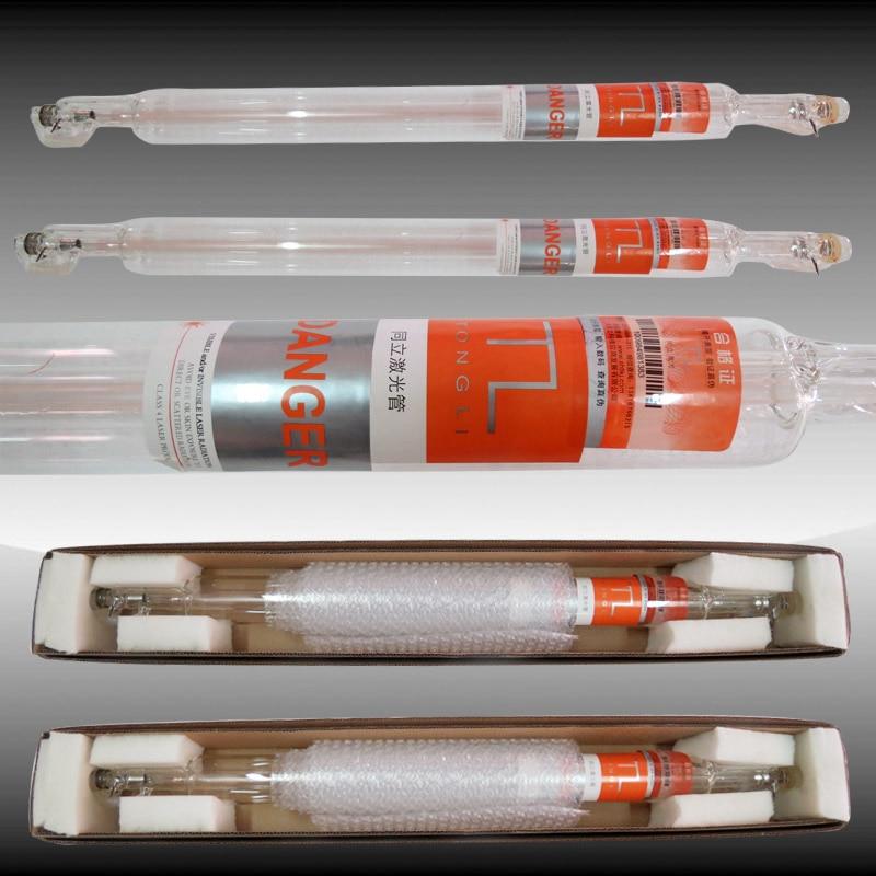 أنبوب رأس معدني محدث بالليزر Co2 ، مصباح أنبوب زجاجي 700 مللي متر ، آلة قطع النقش بالليزر CO2 ، 40 واط