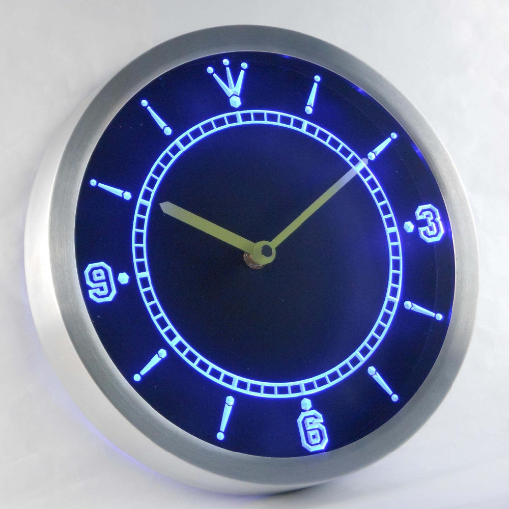 Nc-tm personalizado luz de néon signss led relógios de luz de néon