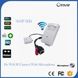 WIFI Mini IP Camera With WIFI Port Covert Camera Motion Detector HD 960P PIR Wireless IP Camera P2P Function Security CAMERA