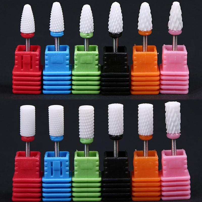 MAFANAILS 28 Typ Keramik Nagel Bohrer Maniküre Maschine Zubehör Dreh Elektrische Nagel Dateien Maniküre Cutter Nagel Dateien DIY