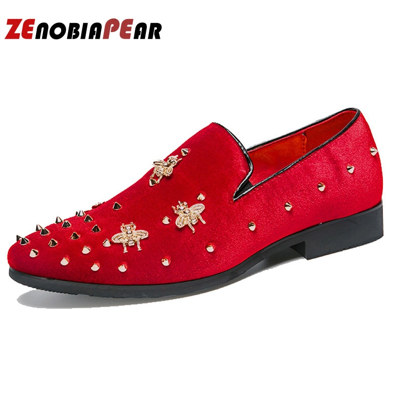 ¡Moda 2019! Zapatos de vestir de punta estrecha, mocasines de hombre, zapatos Oxford de patente para hombres, zapatos formales para boda o boda