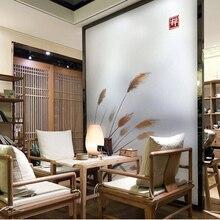 Autocollant de fenêtre, pour rebord de fenêtre, chambre à coucher, opaque chinoise, salle de bain, salon, salle de bains, décoration en aluminium-96