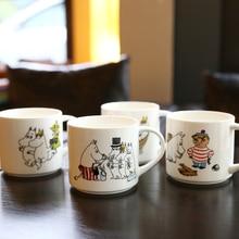 Muumi Family Ceramics Capacity Originality Concise Coffee Mug Milk Water Beer Lovely Drinking Juice Muumi Cup Travel 450ml