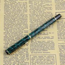 جديد باوير 801 الأخضر الداكن ليوبارد الذكية لبنك الاستثمار القومي قلم حبر