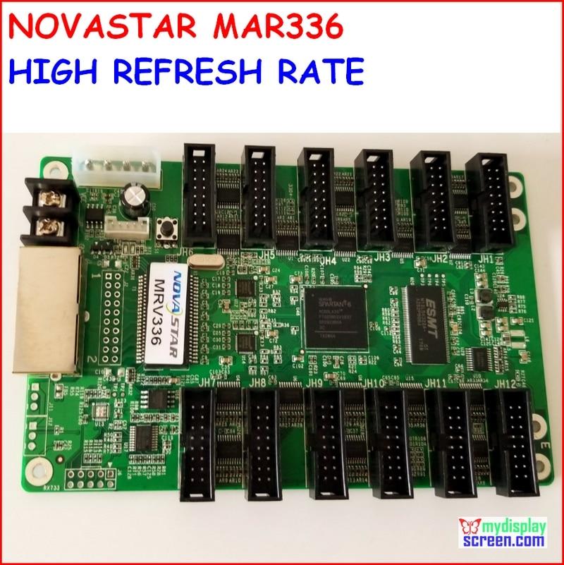 NOVASTAR Receiving Card MRV336,high refresh, high gray grade,max support 256x256