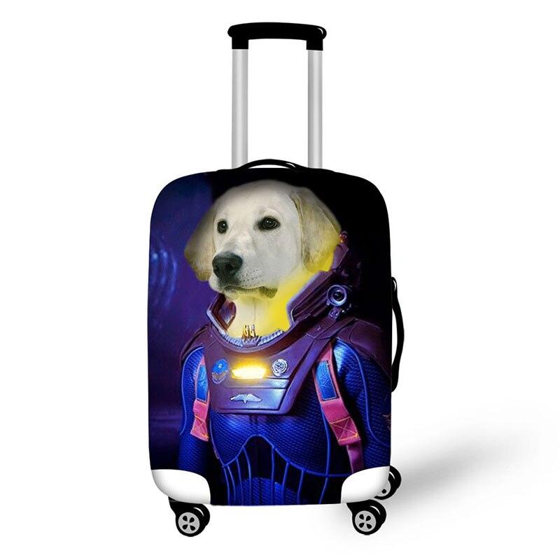 Чемодан на молнии с принтом животных для чемоданов, чемоданов, чемоданов для путешествий, защитный чехол для чемоданов, Противопыльный чехо...