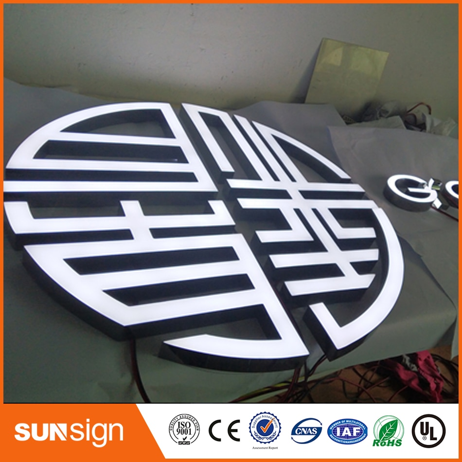 High bright epoxy resin LED channel letter sign недорого