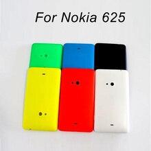 Cubierta trasera de la mejor calidad para nokia 625, carcasa trasera de la puerta de la batería para Microsoft lumia nokia 625, funda trasera + 1 película de pantalla Uds