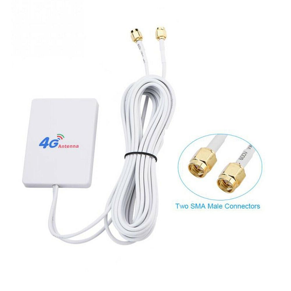 4G/3G WiFi антенна 28dBi LTE антенна усилитель сигнала Мобильный маршрутизатор WiFi антенна SMA/TS9/CRC9 сеть Широкополосная Антенна