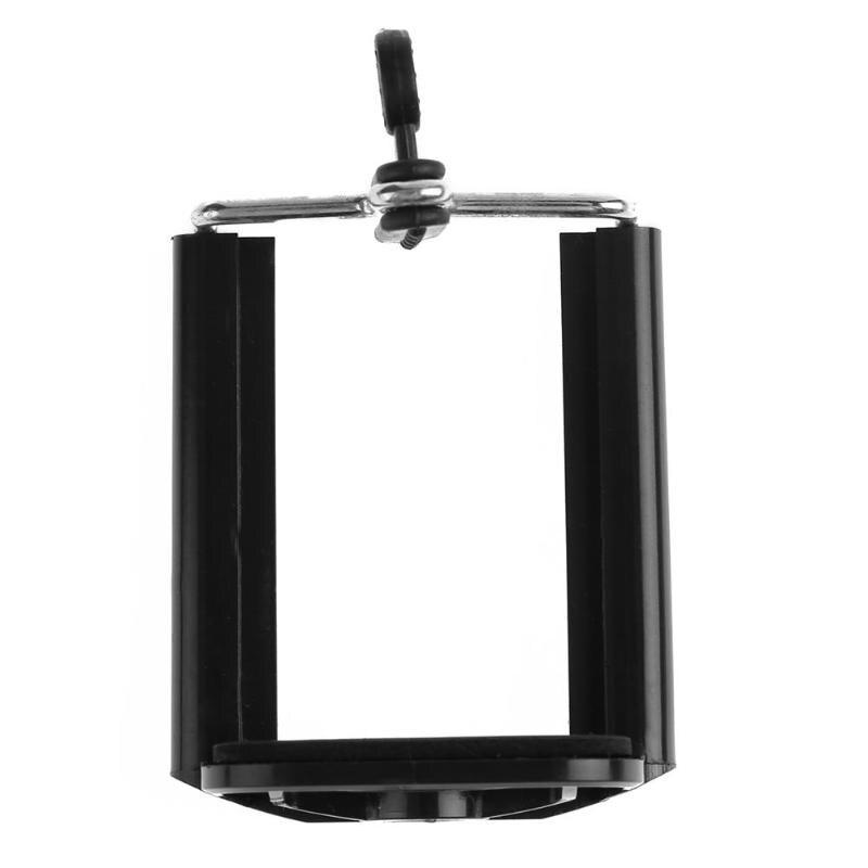 Universal teléfono móvil Clip abrazadera soporte U ranura montaje auto-temporizador soporte Rack trípode para iPhone 6S 7 Plus