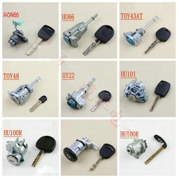 Locksmith Supplies anti-theft car Door Lock Practice Car Door Lock For Volkswagen Toyota Hyundai Ben