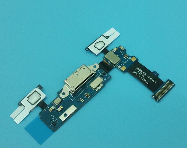 Conector de cargador de muelle Original puerto de carga de batería Micro USB Cable FLEX para Samsung Galaxy S5 G900 G900F G900M G900P/V/D/T/A