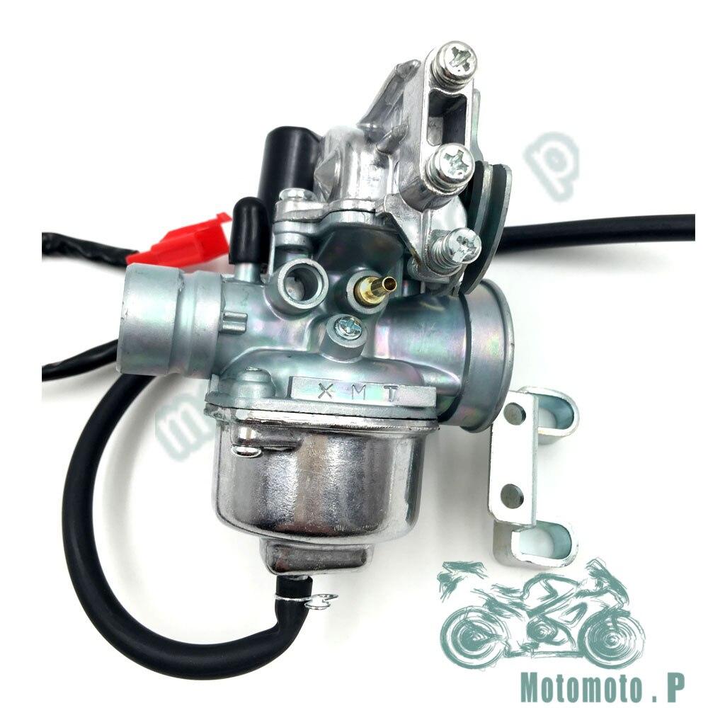 Carburador קרבורטור אופנוע עבור Minarelli 1PE40QMB 1E40QMB 2 שבץ 50cc קטנוע ימאהה JOG50 ZR50 EVO 5BM 5SU VINO50 BWS50