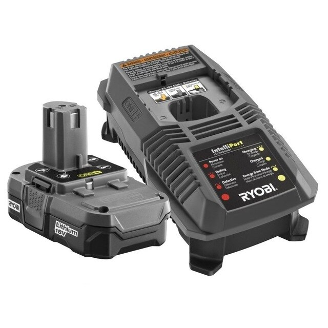 Japanese genuine RYOBI Riyoubi P32018V charger and battery