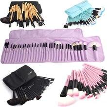 22 pièces 32 pièces maquillage pinceaux ensemble Kits professionnel polyvalent visage cosmétiques rouge à lèvres fard à paupières poudre pinceaux avec sac