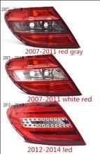 eOsuns rear lamp tail light assembly for Mercedes-Benz C Class W204 C180 C200 C220 C250 C260 C280 C300 2007-2014