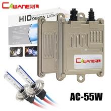 Cawanerl 55W Xenon Light HID Kit AC Ballast Bulb H1 H3 H7 H8 H11 9005 9006 881 3000K-8000K Quick Start Car Headlight Fog Light