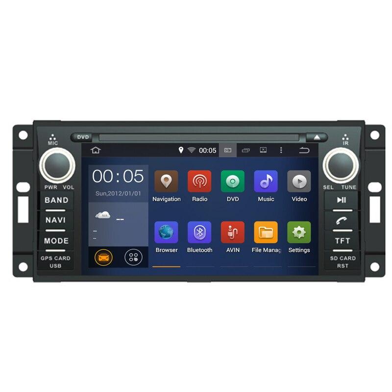 Android 9,0 подходит Chrysler Sebring Aspen 300C Cirrus Jeep Compass Grand Cherokee Wrangler неограниченный dvd-плеер GPS Радио NAVI