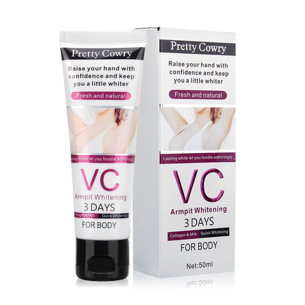 50G body whitening cream for Dark Skin Armpit Elbow Lightening Bikini Underarm Thigh