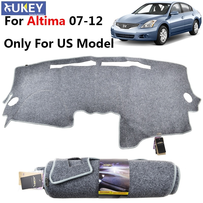 Se adapta a Nissan Altima 2007 2008 2009 2010 2011 2012 Dash Mat cubierta Dashmat Pad alfombra salpicadero cubierta gris claro