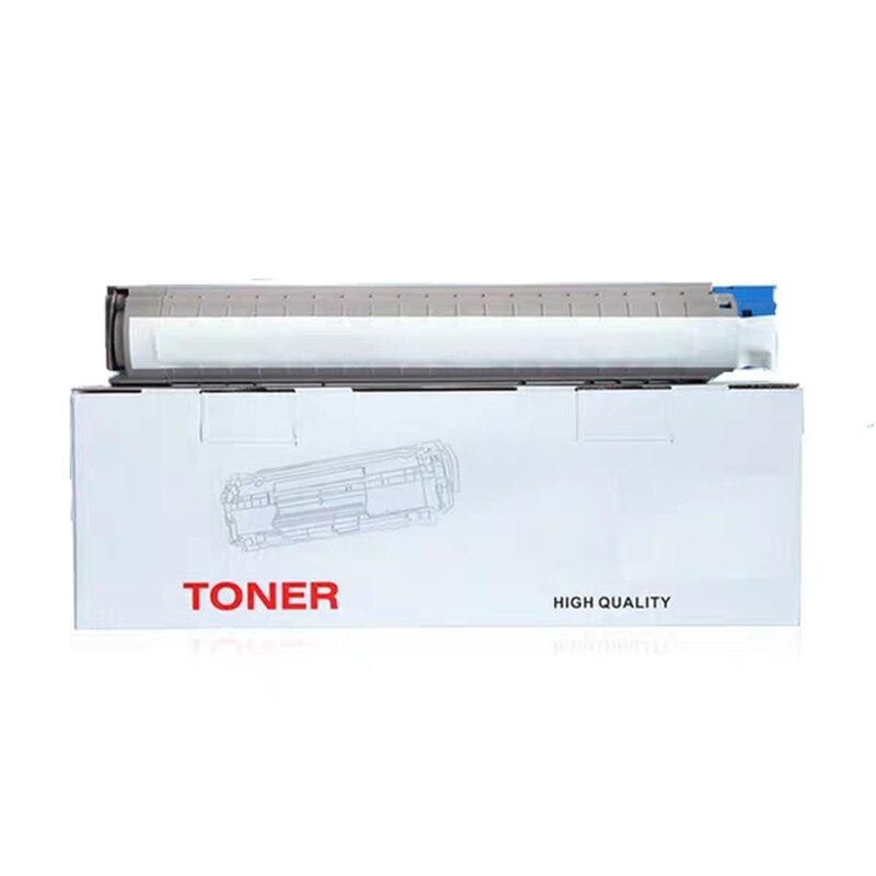 Совместимый цветной тонер-картридж для OKI MC853DN MC873DN с оригинальным порошком MC873 MC 853 873 Премиум лазерный тонер-картридж