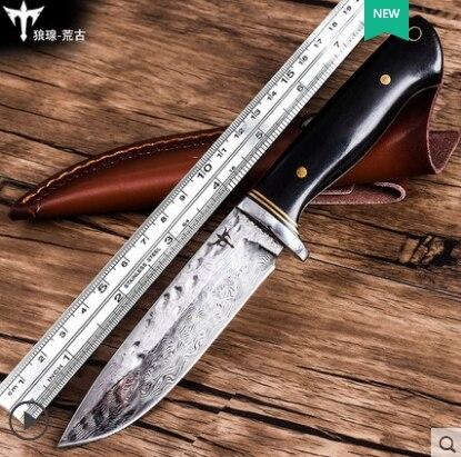 Дамасская сталь EDC нож VG10 лезвие для кемпинга выживания охоты тактический инструмент EDC Ограниченная серия