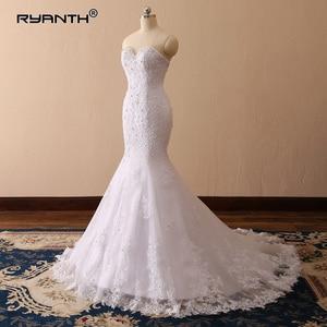 Sparkly Robe De Mariage 2019 Luxury Lace Mermaid Wedding Dress Vestido De Noiva Cheap Sexy Vintage Sweetheart Wedding Gowns