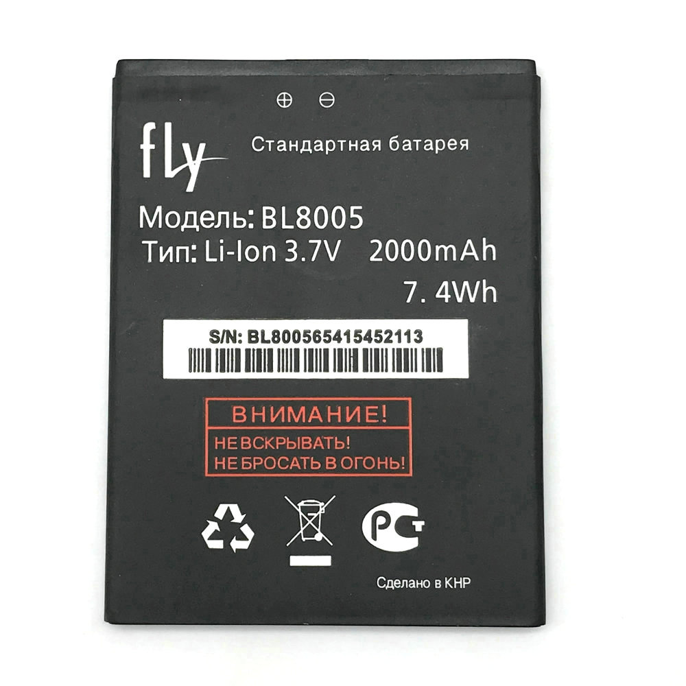 1 Stücke Hohe Qualität Neue Original BL8005 BL 8005 Batterie für Fly IQ4512 Quad EVO Chic 4 BL8005 Handy + Track Code