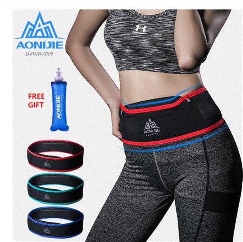 AONIJIE Lauf Gürtel Sport Tasche Wasserdicht Taille Pack Outdoor Jogging Marathon Trail Racing Training Für Männer Frauen